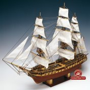 USS CONSTITUTION (CONSTRUCTO) МАСШТАБ 1:82