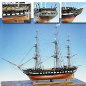 USS CONSTITUTION (MODEL SHIPWAYS) МАСШТАБ 1:76