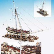 VIRGINIA ARMED SLOOP МАСШТАБ 1:48