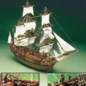 HMS Bounty (Mantua) масштаб 1:60