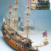 Sovereign Of The Seas (Повелитель морей) масштаб 1:78