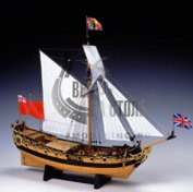Charles Royal Yacht 1674 масштаб 1:64
